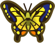 Animal Crossing: New Horizons Tiger Butterfly Bug