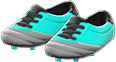 Cleats Item with Light Blue Variation in Animal Crossing: New Horizons