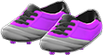 Cleats Item with Purple Variation in Animal Crossing: New Horizons