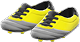 Cleats Item with Yellow Variation in Animal Crossing: New Horizons