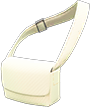 Cloth Shoulder Bag Item with Ivory Variation in Animal Crossing: New Horizons