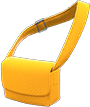 Cloth Shoulder Bag Item with Orange Variation in Animal Crossing: New Horizons