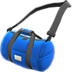 Crossbody Boston Bag Item with Blue Variation in Animal Crossing: New Horizons
