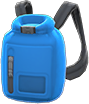 Dry Bag Item with Blue Variation in Animal Crossing: New Horizons