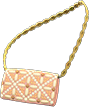 Evening Bag Item with Pink Variation in Animal Crossing: New Horizons