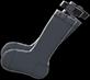 Garter Socks Item with Black Variation in Animal Crossing: New Horizons