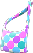 Gumdrop Shoulder Bag Item with Cool Variation in Animal Crossing: New Horizons