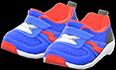 Kiddie Sneakers Item with Blue Variation in Animal Crossing: New Horizons