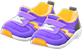 Kiddie Sneakers Item with Purple Variation in Animal Crossing: New Horizons