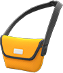 Messenger Bag Item with Orange Variation in Animal Crossing: New Horizons
