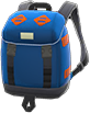Outdoor Backpack Item with Navy Blue Variation in Animal Crossing: New Horizons