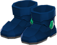 Power Boots Item with Blue Variation in Animal Crossing: New Horizons