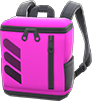 Square Backpack Item with Pink Variation in Animal Crossing: New Horizons