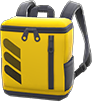 Square Backpack Item with Yellow Variation in Animal Crossing: New Horizons