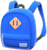 Town Backpack Item with Blue Variation in Animal Crossing: New Horizons
