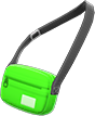 Travel Pouch Item with Green Variation in Animal Crossing: New Horizons