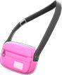 Travel Pouch Item with Pink Variation in Animal Crossing: New Horizons
