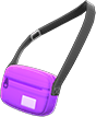Travel Pouch Item with Purple Variation in Animal Crossing: New Horizons