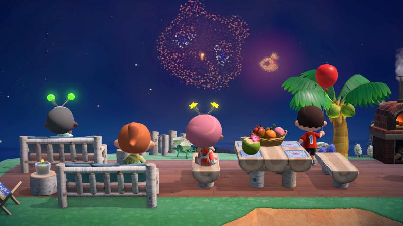 Guia Animal Crossing New Horizons -  Faça seu show de fogos de artifícios brilhar