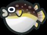 Animal Crossing: New Horizons Blowfish Fish