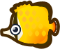 Animal Crossing: New Horizons Butterfly Fish Fish