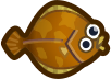 Animal Crossing: New Horizons Dab Fish