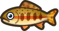Animal Crossing: New Horizons Golden Trout Fish