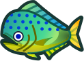 Animal Crossing: New Horizons Mahi-Mahi Fish