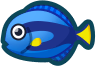 Animal Crossing: New Horizons Surgeonfish Fish