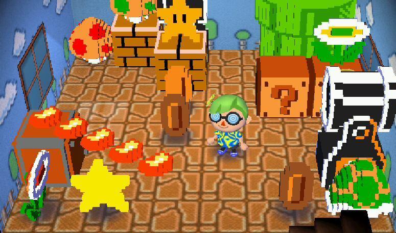 Super Mario Furniture Items Coming To, Super Mario Furniture Animal Crossing