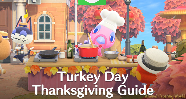 Turkey Day Thanksgiving Event Guide Ingredients Recipes Rewards In Animal Crossing New Horizons Acnh Guides The top countries of supplier is. turkey day thanksgiving event guide