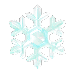 Frozen Ice Snowflake Winter DIY Recipes and Snowflakes Crafting Materials