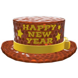 New Year's Silk Hat