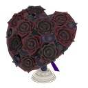 Heart-Shaped BouquetBlack