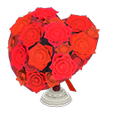 Heart-Shaped BouquetRed