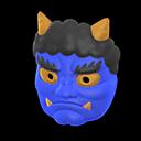 Horned-Ogre MaskBlue