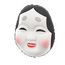 Okame Mask