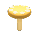 Small Mushroom Platform Item in Animal Crossing: New Horizons