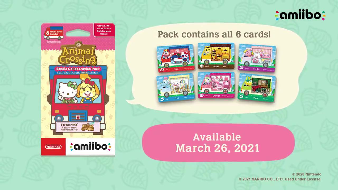 Animal Crossing Pikopuri 2020 magazine 53Stickers+booklet+amiibo card 1 pack set