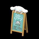Cinnamoroll Signage (Sanrio)