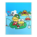 Kerokerokeroppi Poster (Sanrio)