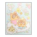 Kiki & Lala Poster (Sanrio)