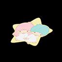 Kiki & Lala Rug (Sanrio)