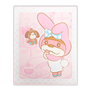 My Melody Poster (Sanrio)