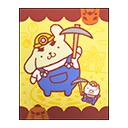 Pompompurin Poster (Sanrio)