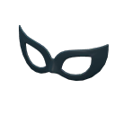 Ballroom Mask - Black