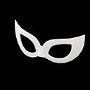 Ballroom Mask - White