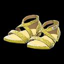 Dance Shoes - Gold