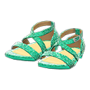 Dance Shoes - Green
