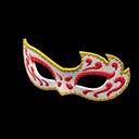 Elegant Masquerade Mask - Red